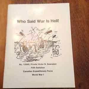 Who Said War is Hell by Yvonne and Ted Burgess