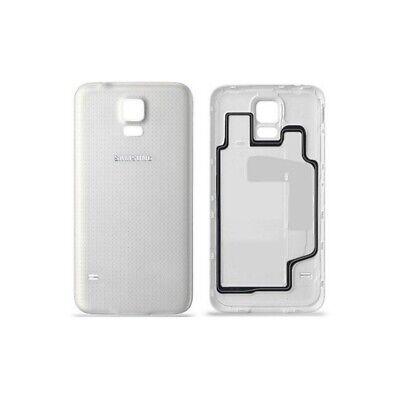 Carcasa Bateria Tapa Trasera para Samsung Galaxy S5 i9600 Blanca