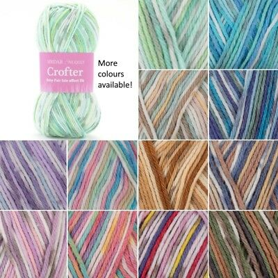 Sirdar Snuggly Crofter DK Double Knitting Baby Fair Isle Yarn Wool 50g Ball ()