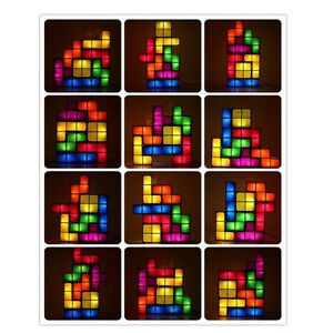 LED Tetris DIY Creative ConstructibleGame Style Stackable Lamp!! Kitchener / Waterloo Kitchener Area image 4