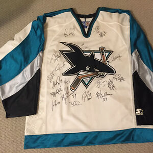 authentic team signed jersey