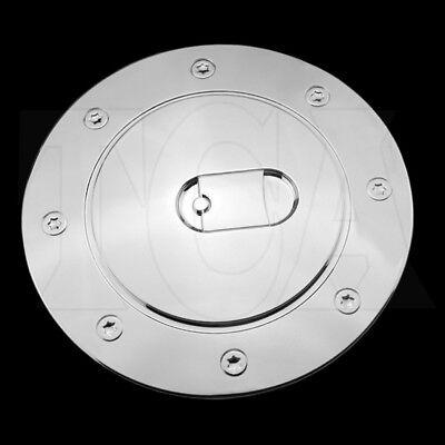 For CHEVY Silverado 1999-2001 2002 2003 2004 2005 2006 Chrome Gas Door Cover