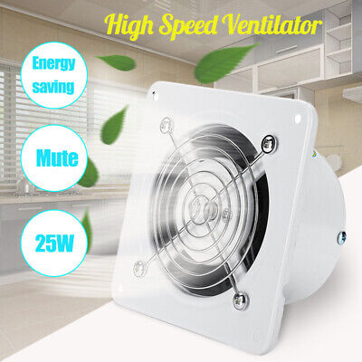 Ventilation Extractor Exhaust Fan Blower Window Wall Kitchen Bathroom Toilet US