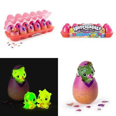 Hatchimals CollEGGtibles, Neon Nightglow 12 Pack Easter Egg Carton With Season 4