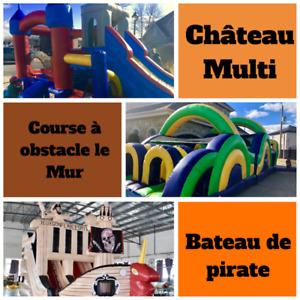 Location de Jeux Gonflables, Inflatable Games