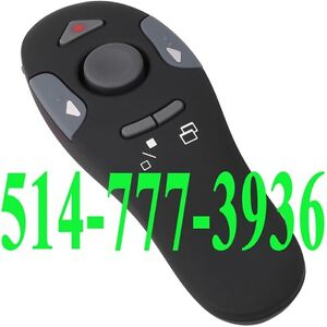 Presentation Remote Wireless PowerPoint Laser Point Mouse