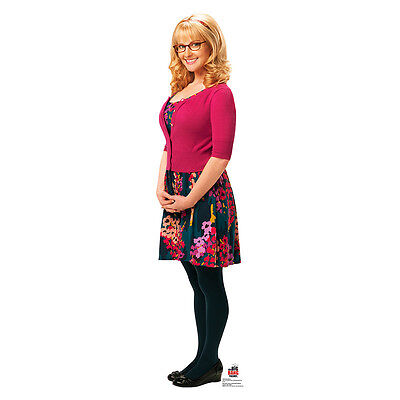 BERNADETTE Big Bang Theory Melissa Rouch CARDBOARD CUTOUT Standup Standee Poster