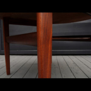 Teak and Rosewood Coffee Table