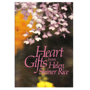 HEART GIFTS FROM HELEN STEINER RICE BOOK