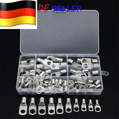 Crimper-kit (100x 6mm²-35mm² Rohrkabelschuhe Kabelschuh Rohrkabelschuh Kupferrohr Crimper Kit)