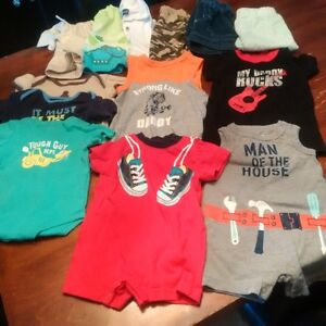 boys 3 to 6 month summer clothes SOLD PPU