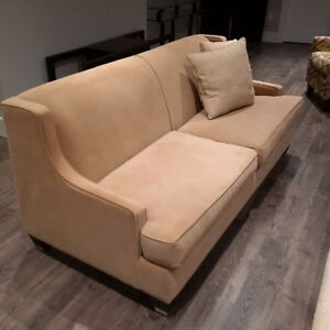 Brentwood Classics Chic Condo Sofa with Pillows