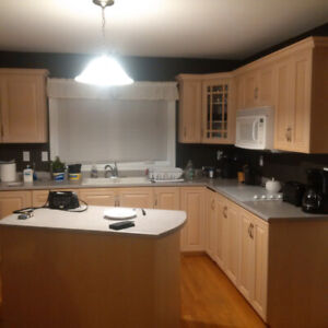 Room available in two story house to share