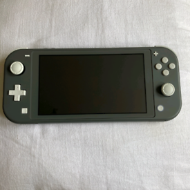 Nintendo switch lite grey with box