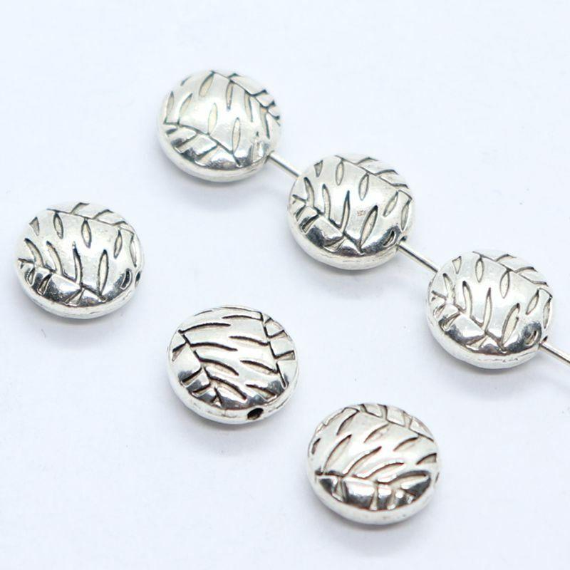 16//48pcs Tibetan Silver Skull Charms Pendants Beads Jewelry Findings