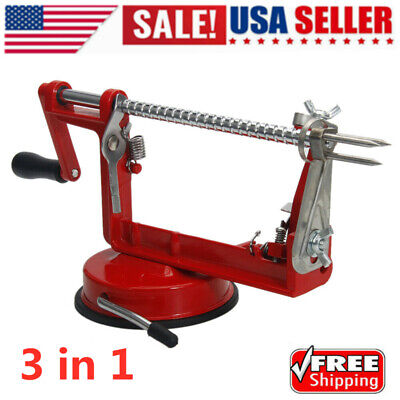 US 3 in 1 Apple Pear Peeler Slicer Corer Potato Cutter Parer