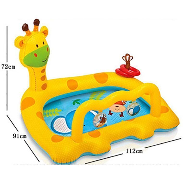 Kinder Wasser Spielzeug Aufblasbar Tragbar Pool für Baby Sommer Kinder Außen Bad