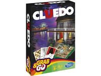 Hasbro Cluedo Grab and Go Game - Travel Size - NEW