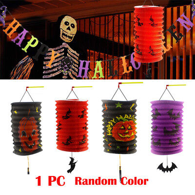 One pc Indoor Halloween Party Decor Paper Lanterns and Party Hanging Banner - Halloween Indoor Decorations