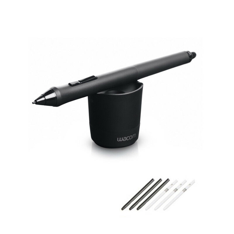 Genuine Wacom Kp-501e Grip Pen Kp-501e-01 For Intuos 5 4 Pro Cintiq 21ux 24hd Graphics Tablets/boards & Pens Computers/tablets & Networking