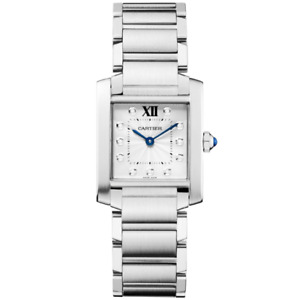 CARTIER TANK FRANCAISE LADIES (2014) #WE110006