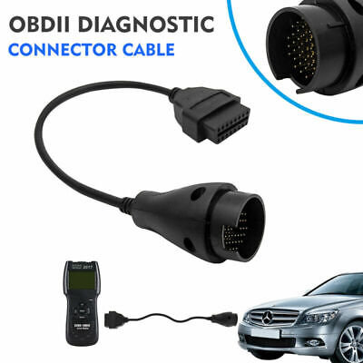 38 Pin to OBD2 Female 16Pin Diagnostic Connector Tool Adapter Cable for Iveco SD