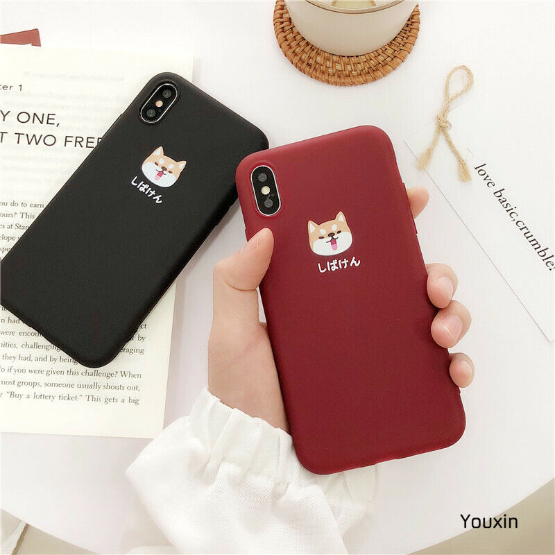 Cute Shiba Inu Dog Slim Soft Thickened TPU Case For IPhone 6 7 8 X XR XS Max - $6.95