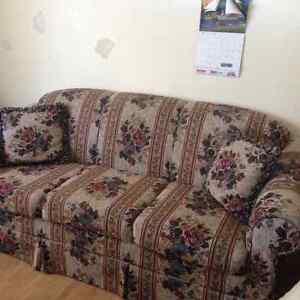 Flowered Couch (Reduced to $100 until Saturday)