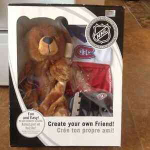 Brand new Montreal Canadiens Habs build a bear
