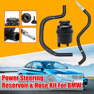Power Steering Reservoir Hose Kit For BMW E39 525i 528i 530i 328i 528i 550i X5