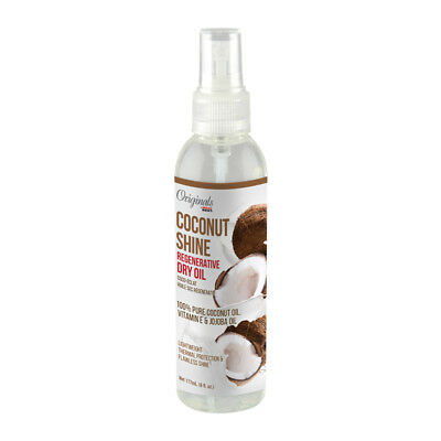 Africa's Best Originals Coconut Shine Regenerative Dry Oil Thermal Protector (Best Thermal Hair Protector)