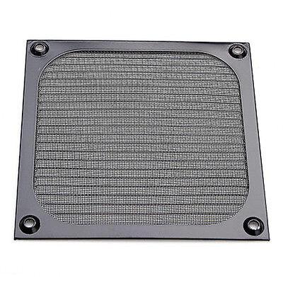120mm Aluminium Lüfter Filter (PC Computer Lüfterkühlung Staubdicht Staubfilter Fall Aluminium Grillschutz UE)