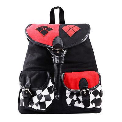 Quinn Cosplay Rucksack Tasche Schultasche Backpack Kostüm (Kostüm Rucksack)