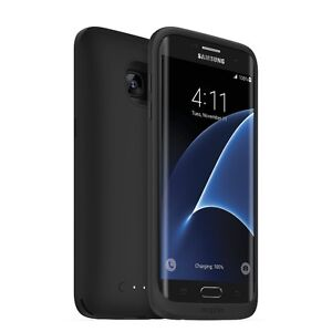 Mophie Juice Pack Wireless Samsung Galaxy S7 Battery Case - Blac