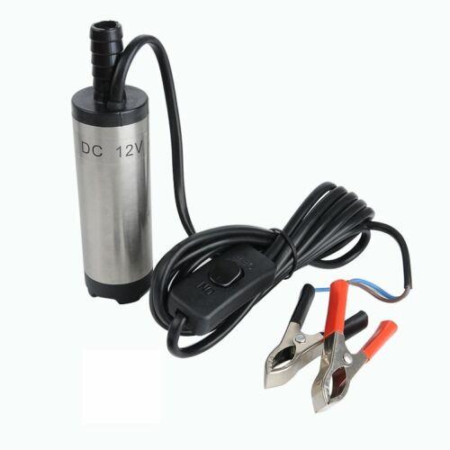 Tauchpumpe 12V 51mm Diesel Öl Wasserpumpe Bootpumpe Transfer uto 8500 U min