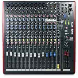 Allen and heath 16 zed 16fx mixer