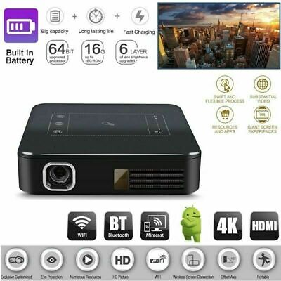 2020 HD 4K DLP Home Theater Projector Wifi 1080P Mini Android Cinema 2G+16G HDMI