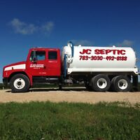 JC Excavating - Sewer and Water including Septic Pump Outs
