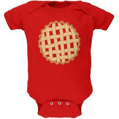 Baby Pie Costume (Halloween Lattice Pie Costume Strawberry Cherry Soft Baby One)