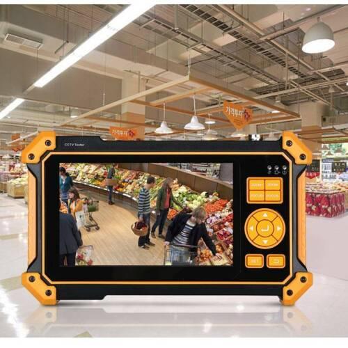 5 inch 8MP CCTV Camera Tester AHD CVI TVI CVBS Monitor Test Security PTZ