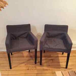 Two New Ikea Nils Chairs with Armrests Peterborough Peterborough Area image 2