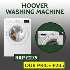 Brand New Hoover Washing Machine - RRP £279 - Our Price £235 - Delivery Available