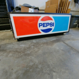 Old Pepsi sign.