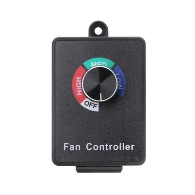 Ac 120v 15a Fan Variable Voltage Speed Control Electric Motor Rheostat Governor