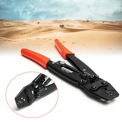 Hs-16 1.25-16mm Cable Lug Crimper Crimping Tool Bare Terminal Wire Plier Cutter