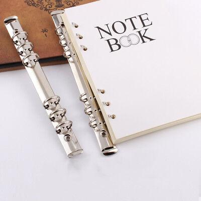 1pc A5 Metal Spiral Binder Notebook Folder Clips DIY Album Clips Metal Ring - Diy Spiral Notebook