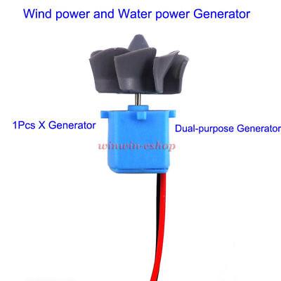 Micro Wind Turbines Generator Hydraulic Water Generator Mini Motor Toy Project