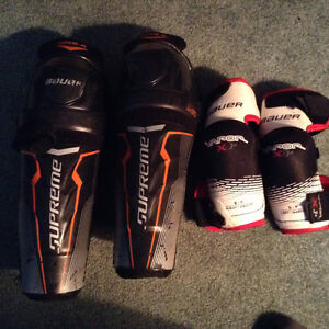 Hockey shin & elbow pads