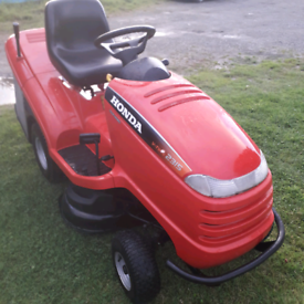 Honda 2315 hydrostatic ride on lawn Mower new deck and belts serviced