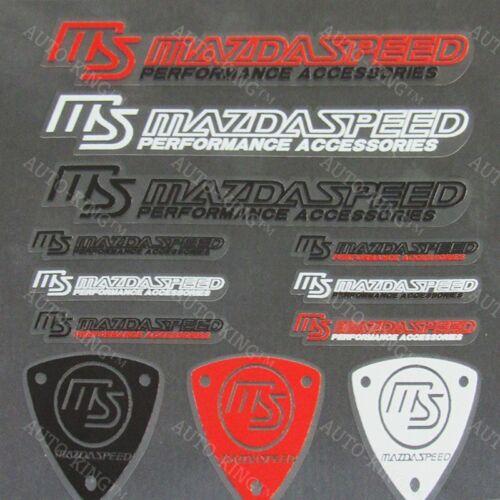 12pcs MUGEN Small Reflective Decal Sticker Set Window Vinyl For Car HONDA CIVIC